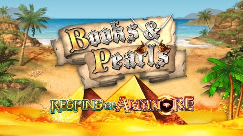 BOOK AND PEARLS RESPINS OF AMUN RE