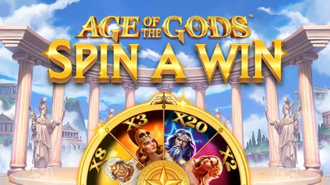AGE OF THE GODS: SPIN A WIN