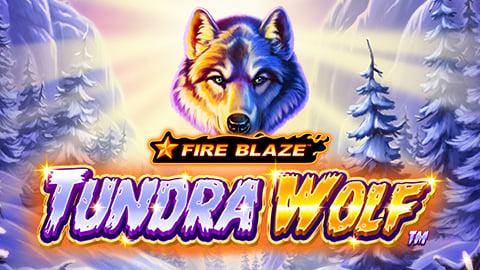 FIRE BLAZE GOLDEN: TUNDRA WOLF